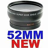 Bestdealusa Neewer 0.45X 52Mm Wide Angle Lens With Macro For For Nikon D90, D300, D300S, D3, D3X, D5000, D3100, D3000, D80, D100, D200, D40, D40X, D50, D60, D70, D700, D7000, 18-55Mm F/3.5-5.6G Ed Ii Af-S Dx