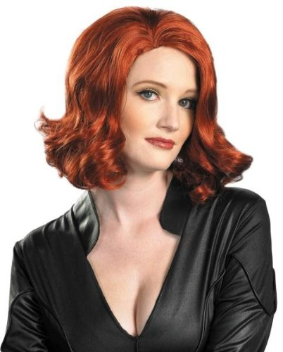 Costumes For All Occasions DG43726 Black Widow Wig