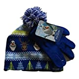 Disney Frozen Olaf and Sven Knit Cap and Glove Set