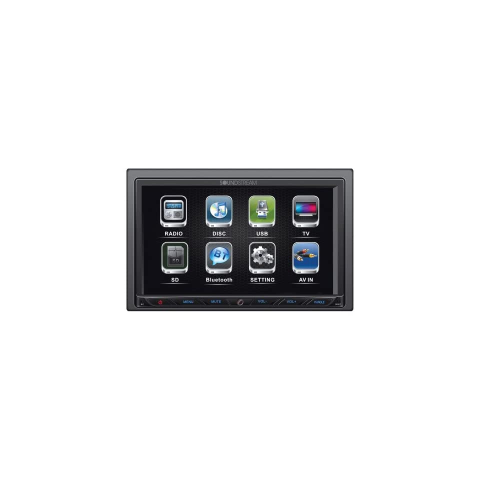 Soundstream VR764 7 Multimedia 2 DIN Bluetooth