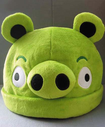 Angry Birds: Green Pig Costume Hat