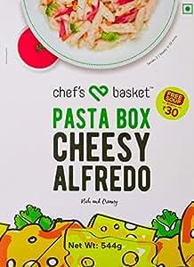 Chef's Basket Pasta Box, Cheesy Alfredo, 544g