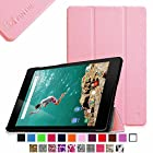 Fintie Google Nexus 9 Case - Ultra Slim Lightweight Cover [SmartShell Series] with Auto Sleep / Wake Feature for Google Nexus 9 Tablet (8.9-Inch 2014 Model) by HTC, Pink