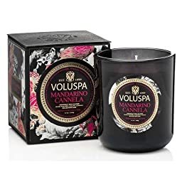 Voluspa 12oz Boxed Classic Maison Candle - Mandarino Cannela by Voluspa