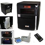XtremepowerUS 4 in 1 All Season 1500W LCD Digital Screen Quartz Infrared Heater Humidifier Plasma Inverter Air purifier (XPD-1700 BLK)