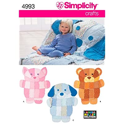 simplicity sewing pattern 4993 crafts one size