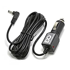 DC Car Charger Adapter Cable Cord for Sylvania Portable DVD Player