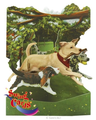 Swing Card - Dogs In The Park - SC135