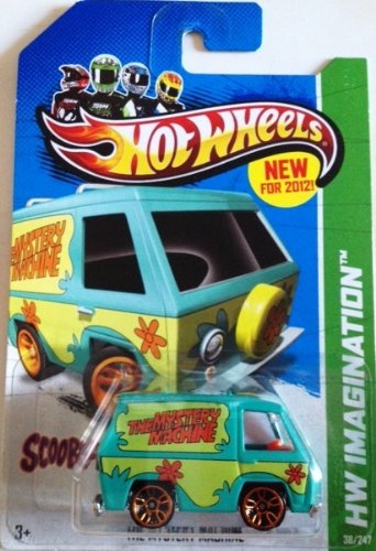 2012 Hot Wheels Hw Imagination - The Mystery Machine Scooby-Doo! - 1