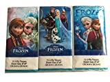 Disney Frozen Bath Bundle - 6 Items - Box Tissue, Shampoo, Hand Soap, Cotton Swabs, Travel Tissues, Drinking Cup - Easy Grab Setup for Any Frozen Fan - Perfect for Travel, Camps, Boarding School