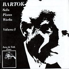 Bartok Solo Piano Works, Volume 1