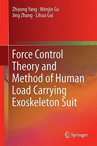 Force Control Theory and Method of Human Load Carrying Exoskeleton Suit [Yang, Zhiyong - Gu, Wenjin - Zhang, Jing - Gui, Lihua] (Tapa Dura)