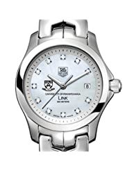 Buy Cheap University of Pennsylvania TAG Heuer Watch - Women's Link with Mother of Pearl