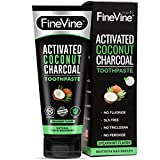 Charcoal Teeth Whitening Toothpaste - Made in USA - WHITENS TEETH NATURALLY and REMOVES BAD BREATH - Best Natural Vegan Organic Toothpaste - (Spearmint Flavor)