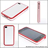 517OBKfWXmL. SL160  i BLASON iPhone 4 White Red Bumper case cover Award Winning Design ATT 4G