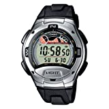 Casio - W-753-1AVES - Montre Homme - Multifonction - Quartz digitale - Bracelet r�sinepar Casio