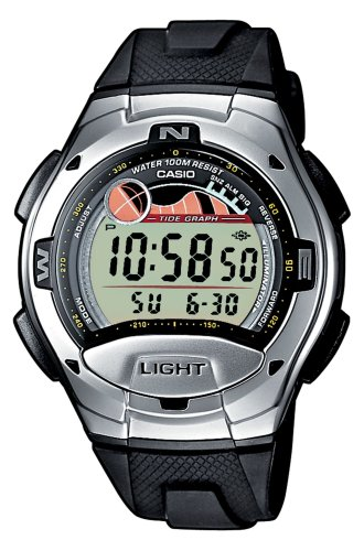 Casio W-753-1AVES Mens Digital Resin Strap Watch