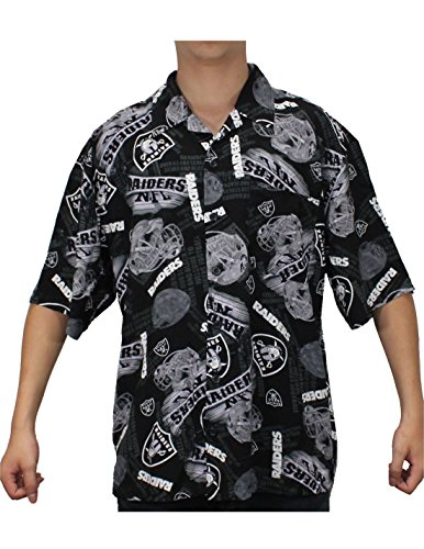 Limited Edition Mens Oakland Raiders Hawaiian Summer Shirt Limited