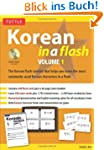 Korean in a Flash, Volume 1 [With CD...