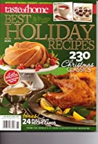 Holiday Recipes Magazine. Best of Taste of…