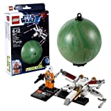 Lego Year 2012 Star Wars Series Set # 9677 : X-WING STARFIGHTER And YAVIN 4 With X-Wing Pilot Minifigures Plus...
