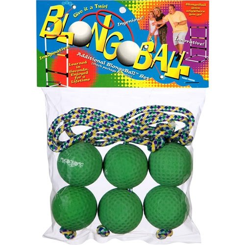 Blongo Family Fun BB-2 S-GR BlongoBall Soft Accessory Pack (Green)