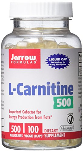 Jarrow Formulas L-Carnitine, Supports Enery, Cardiovascular Health