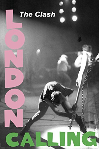 The Clash Poster London Calling 24 by 36