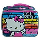 Hello Kitty Lunch Bag (Black Rainbow)