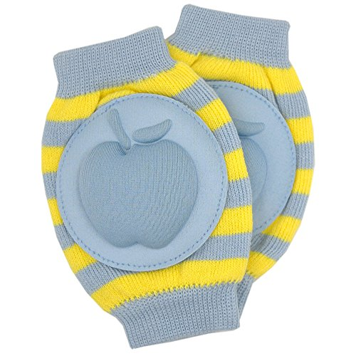 New Baby Crawling Knee Pad Toddler Elbow Pads 8055210 Blue-yellow