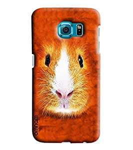 Omnam Mouse Face Printed Designer Back Cover Case For Sumsang Galaxy S7 EDGE