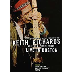 Keith Richards Live In Boston