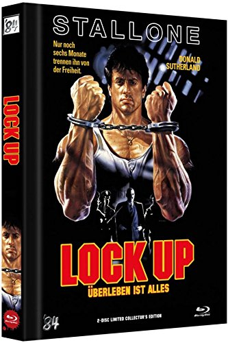 Lock Up - Uncut/Mediabook (+ DVD) [Blu-ray] [Limited Collector's Edition]