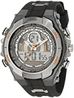 Armitron Men's 204589ORGY Analog-Digital Chronograph Gray and Black Sport Watch from Armitron