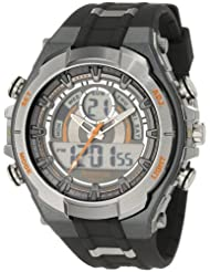 Armitron 204589ORGY Analog Digital Chronograph Black