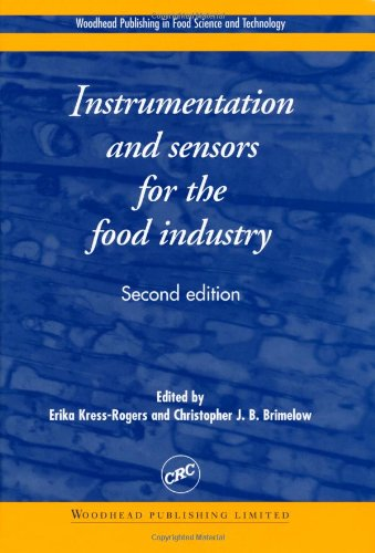 Instrumentation And Sensors For The Food Industry, Second Edition