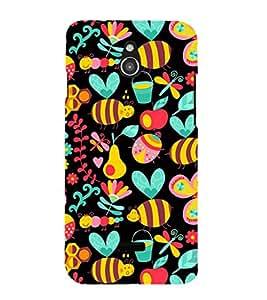EPICCASE honey bee Mobile Back Case Cover For Infocus M2 (Designer Case)