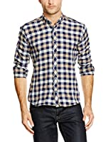 Philip Loren Camisa Hombre (Azul Marino / Crudo)