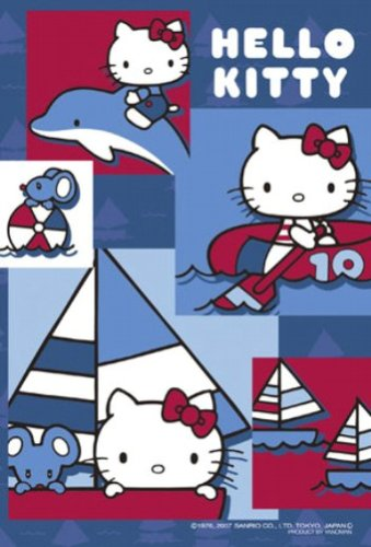 Jigsaw Puzzle Petit Hello Kitty 204 small piece Marin (10cm x 14.7cm, corresponding panel: Petit only) (japan import) by The Yanoman