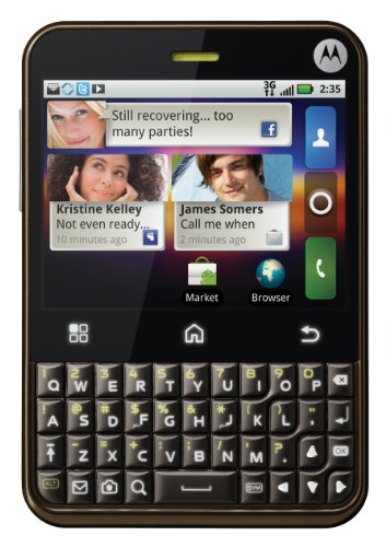 Motorola Charm Android Phone, Golden Bronze (T-Mobile)