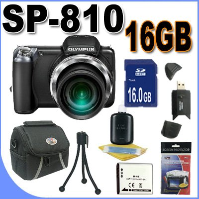 Olympus SP-810 Ultra Zoom 14MP 36X 24mm Wide