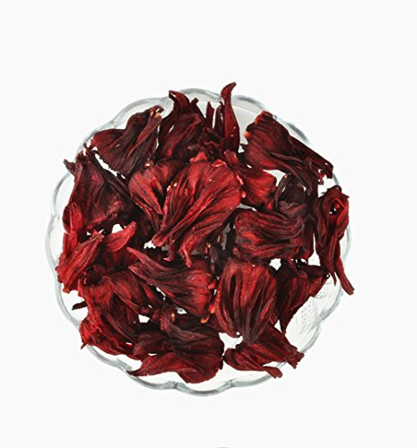 Moyishi Pure Nature Dried Organic Red Roselle (Hibiscus Flowers) 50G