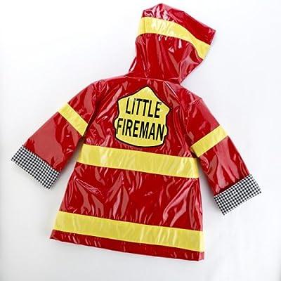 Mud-Pie Baby All boy Fireman Rain Coat - 12-18 months