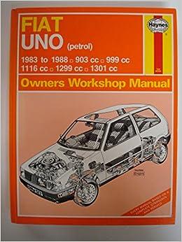 Fiat Uno 45, 55, 60 and 70 1983-88 903, 999, 1116, 1299, 1301 c.c