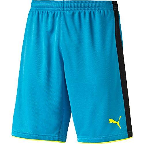 PUMA pantaloni da uomo pantaloncini da torneo GK Blu Atomic Blue-Safety Yellow XXL