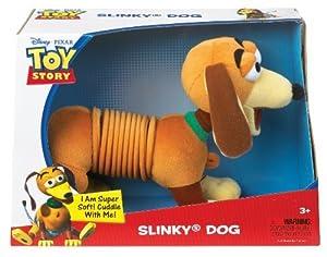 POOF-Slinky Model #2266 Disney Pixar Toy Story Plush Slinky Dog, Single Item by Slinky TOY (English Manual)