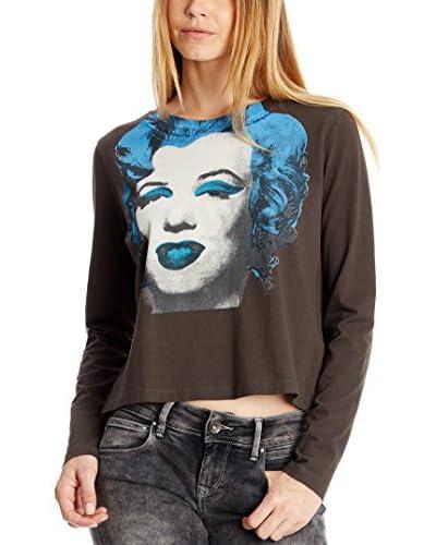 Pepe Jeans London Camiseta Manga Larga Olsen Gris Oscuro