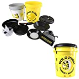 Gold Rush Nugget Bucket - Deluxe Gold Panning and Prospecting Kit