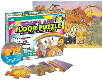 Cheap Fun Twin Sisters Productions TW1203PZ Noah's Ark Floor Puzzle & CD (B004DRU2BI)