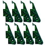 8 Pcs Green Pearl 3PLY New-Pickguard For Les Paul Standard